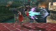 Lanzamiento superior de Ike (2) SSB4 (Wii U)