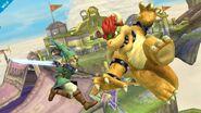 Link y Bowser SSB4 (Wii U)