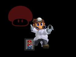 Pose de victoria Dr. Mario X (2) SSBM