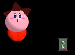 Pose de victoria Kirby X (3) SSBM