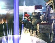 Smash meteórico Mario SSBB (3)
