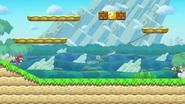 Super Mario Maker (New Super Mario Bros. U) SSB4 (Wii U)
