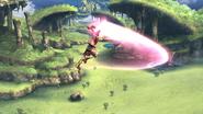 Ataque aéreo (Shulk) (2) SSB4 (Wii U)