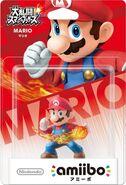 Embalaje del amiibo de Mario (Japón)