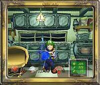 La cocina (Luigi's Mansion)