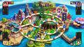 Mundo Smash,Tablero Mediano SSB4 (Wii U)