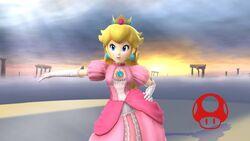 Pose de victoria (1) Peach SSB4 Wii U