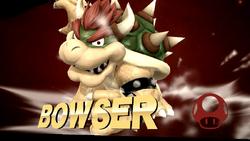 Pose de victoria de Bowser (1-2) SSB4 (Wii U)