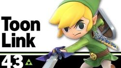 43 Toon Link – Super Smash Bros