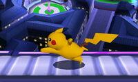 Agarre en carrera Pikachu SSB4 (3DS)