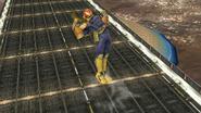 Ataque aéreo inferior de Captain Falcon SSB4 (Wii U)