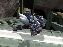Ataque fuerte inferior Wolf SSBB