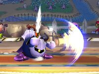 Ataque normal Meta Knight SSBB