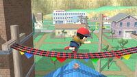 Ataque normal Ness (2) SSB4 (Wii U)