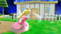 Ataque normal Peach (2) SSB4 Wii U
