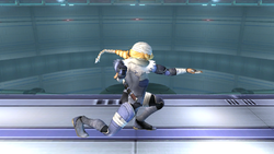 Ataque normal Sheik SSBB (1)