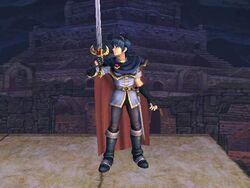 Burla inferior Marth SSBB