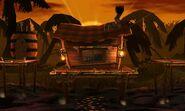 Jungla Jocosa en SSB4 (3DS)