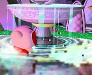 Kirby usando tragar SSBM