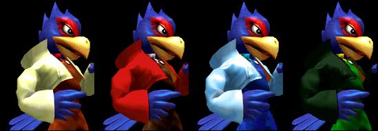 Paleta de colores Falco SSBM