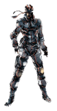 Pegatina Solid Snake MGS SSBB