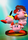 Trofeo de Kirby Hat 5 SSBM