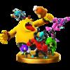 Trofeo de Los Mortíferos Seis SSB4 (Wii U)