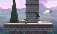 Versión omega del Castillo de Hyrule SSB4 (3DS)