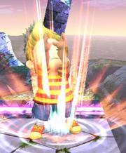 Ataque Smash superior Lucas SSBB (2)