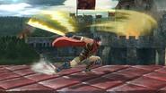 Ataque fuerte lateral de Ike (3) SSB4 (Wii U)