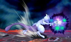 Ataque rápido Mewtwo (1) SSB4 (3DS)