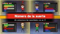 """Bonificación """"Número de la suerte"""" en Mundo Suerte SSB4 (Wii U)"""