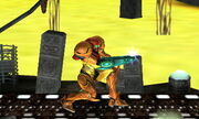 Burla inferior Samus SSB4 (3DS) (2)