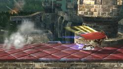 Tajo defensivo SSB4 (Wii U)