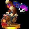 Trofeo de Donkey Kong (Locomokong) SSB4 (3DS)