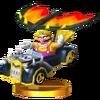 Trofeo de Wario (Canallículo) SSB4 (3DS)