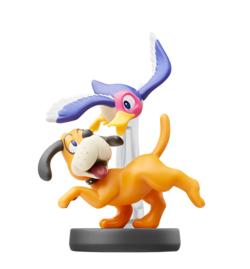 Amiibo del Dúo Duck Hunt