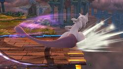 Ataque de recuperación en el borde Mewtwo (2) SSB4 (Wii U)