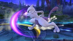 Ataque de recuperación por resbalo Mewtwo (2) SSB4 (Wii U)