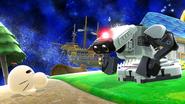 Créditos Modo Senda del guerrero R.O.B. SSB4 (Wii U)