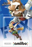 Embalaje del amiibo de Fox (América)