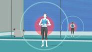 Entrenadora de Wii Fit en Zona de entrenamiento SSB4 (Wii U)