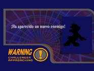 Pantalla de desbloqueo Luigi SSBM