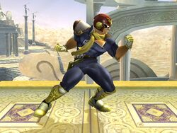 Pose de espera Captain Falcon SSBB (1)