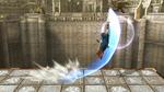 Tajo medialuna SSB4 (Wii U)