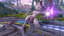 Agarre corriendo Mewtwo SSB4 (Wii U)