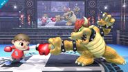 Aldeano contra Bowser SSB4 (Wii U)