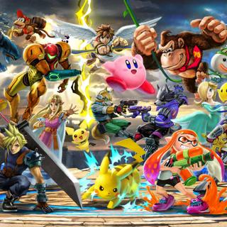 Artwork panorámico promocional del juego.