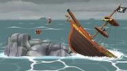 Barco Pirata (3) SSB4 (Wii U)