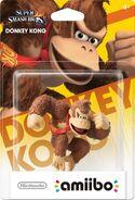 Embalaje del amiibo de Donkey Kong (América)